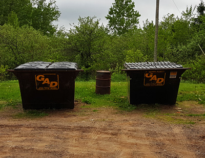 Onota dumpsters